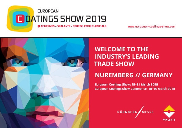 Metaflake at the European Coatings Show for 2019
